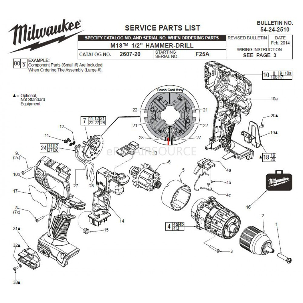 Cordless Drill Wiring Diagram Schematic Diagrams Sawzall Milwaukee 2602 20 Parts Circuit U2022