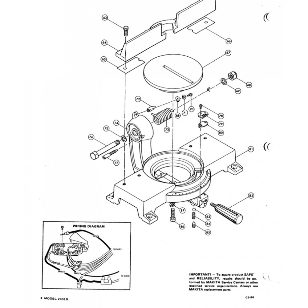 2401b_d2 rockwell miter saw wiring diagrams rockwell hand saw, rockwell rockwell automation wiring diagrams at alyssarenee.co
