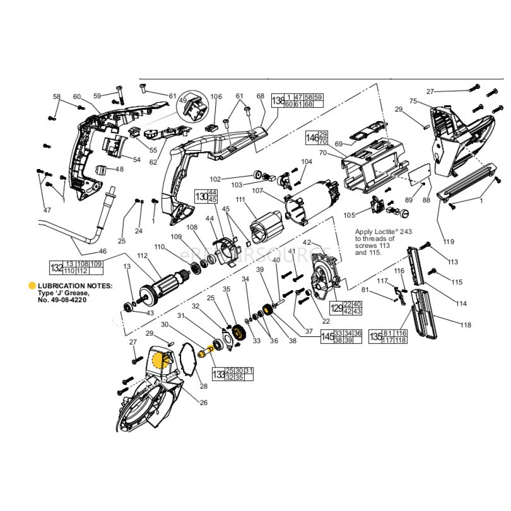 Bandsaw Wiring Diagram Auto Electrical Vanagon Alternator 213 8155 Delta Band Saw Parts Catalog